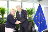 Bilateral meeting between Christos Stylianides, Member of the EC, and Beata Kempa, Polish Minister without portfolio and Member of the Council of Ministers