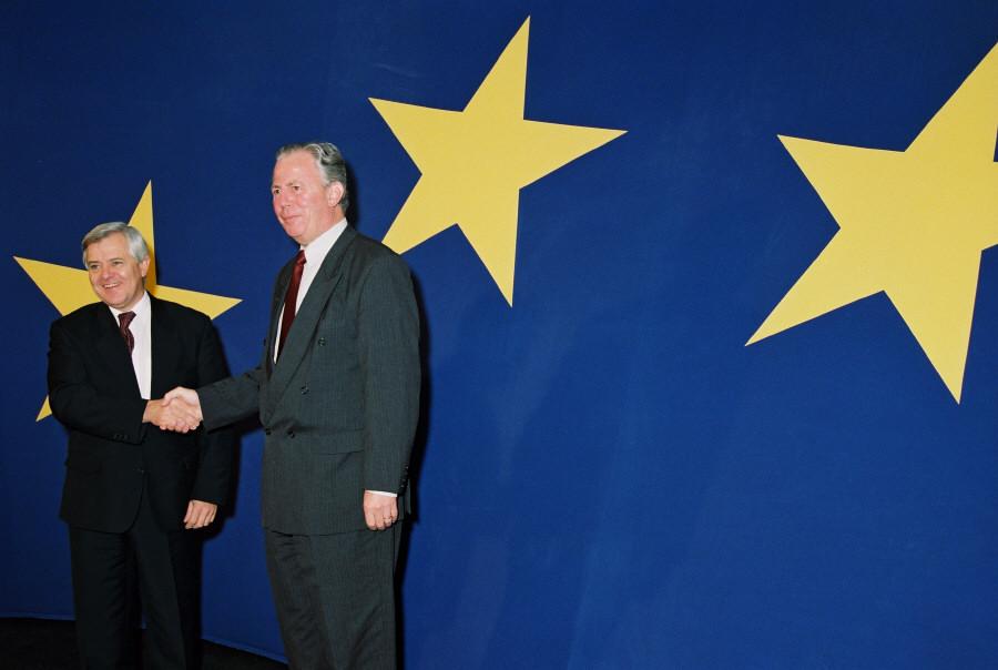 Visit of Milan Kučan, President of Slovenia, to the EC