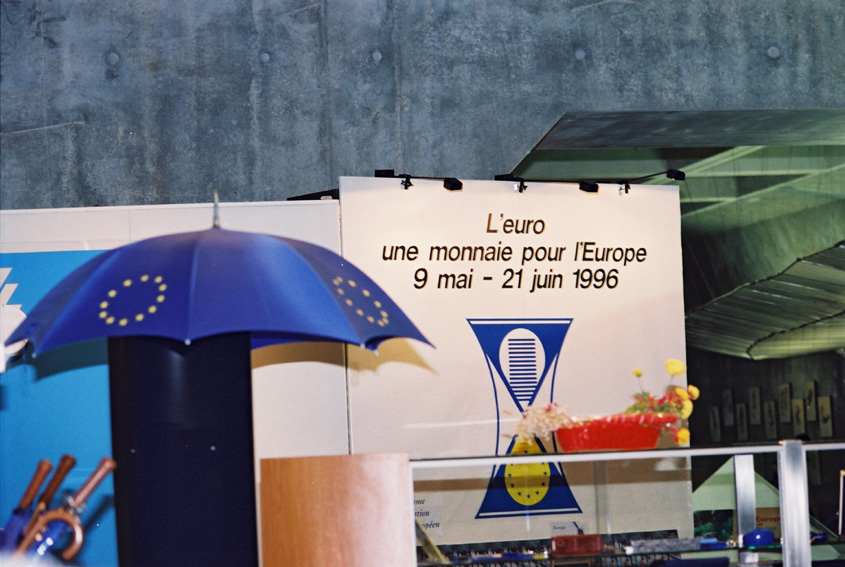 Euro exhibition in Paris