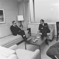 Visit of Richard Nixon, US President, to Brussels