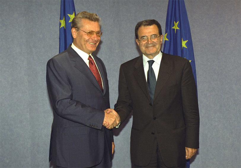 Petru Lucinschi visits the European Commission
