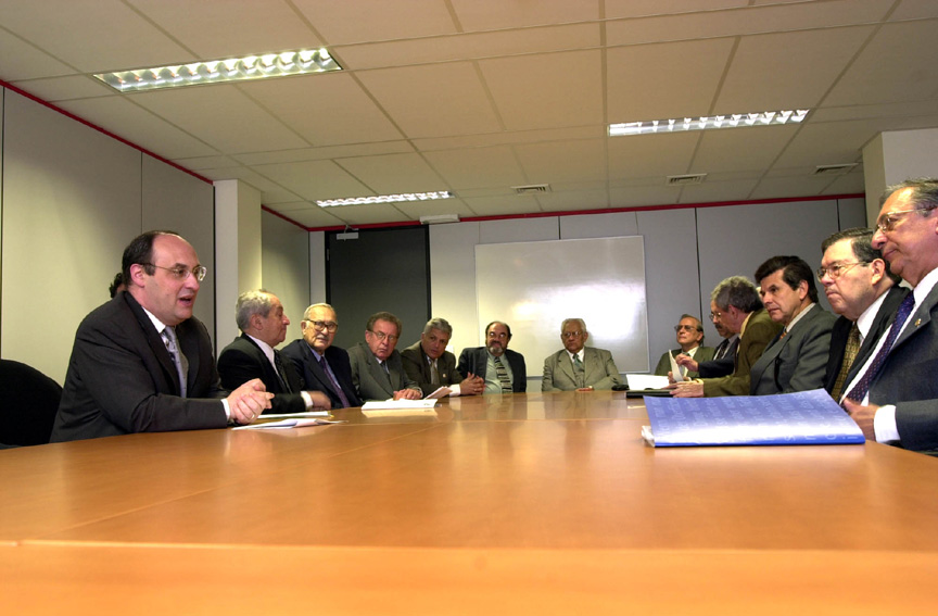 Visit of some Presidents of the Latin American Constitutional Tribunals, to the EC