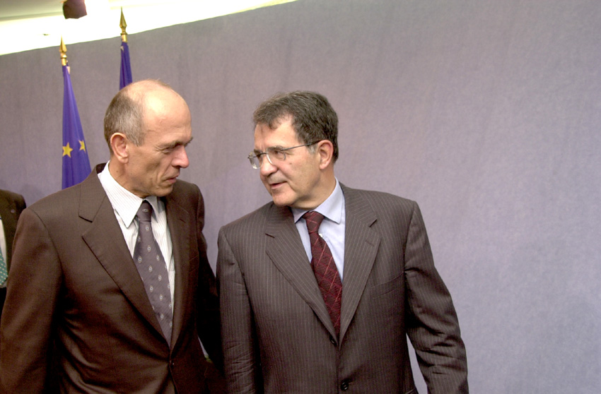 Visit of Janez Drnovšek, Prime Minister of Slovenia, to the EC