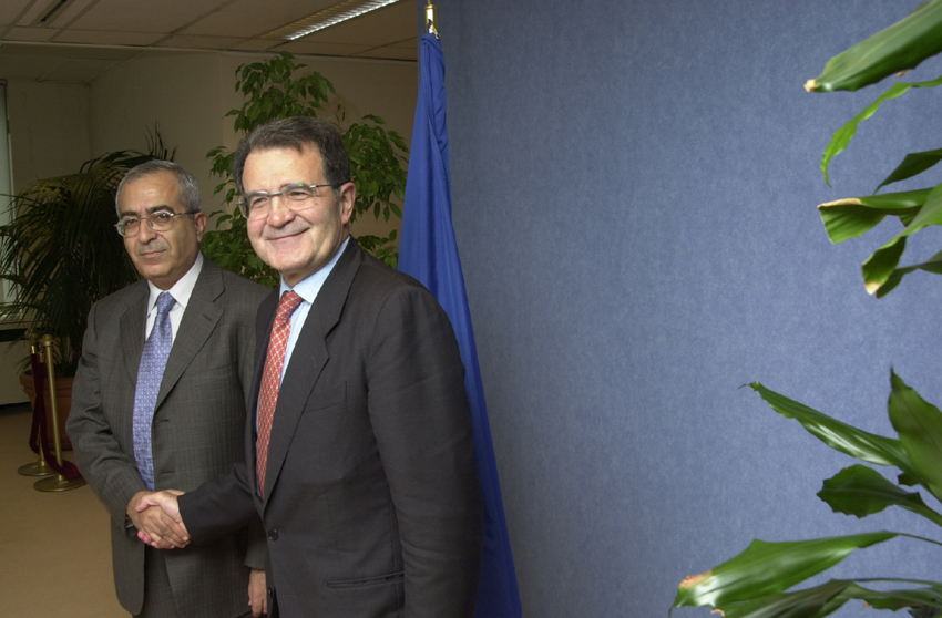 Visit of Salam Fayyad, Minister for Finance of the Palestinian Authority, to the EC