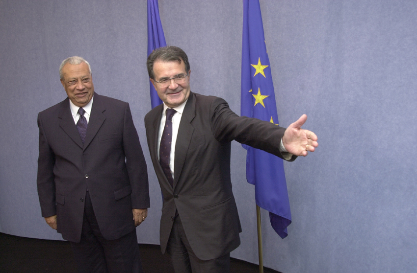 Visit of Atef Ebeid, Egyptian Prime Minister, to the EC