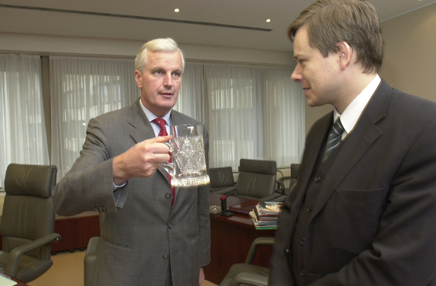 Visit of Pavel Němec, Czech Minister for Regional Development, to the EC
