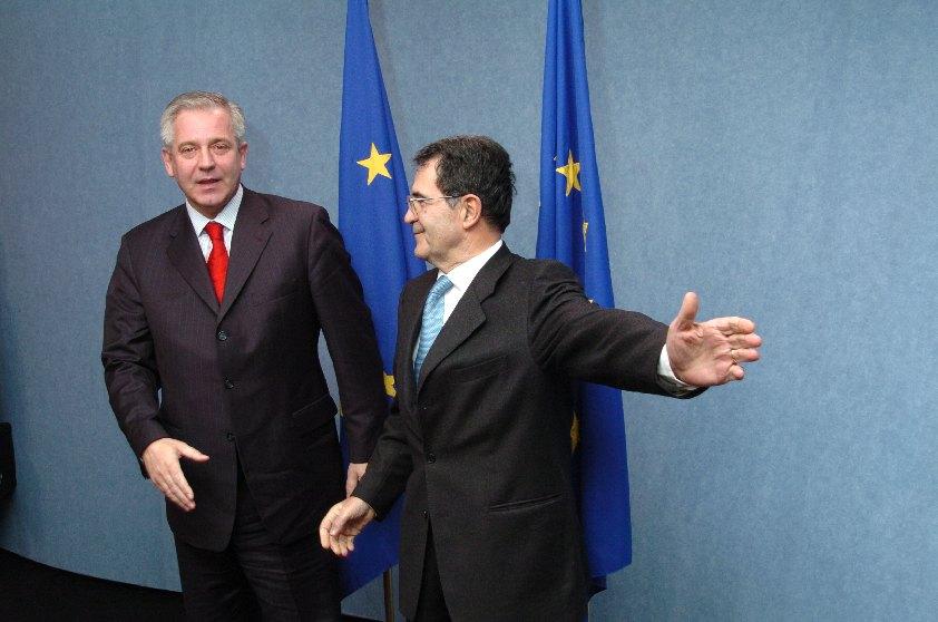Visit of Ivo Sanader, Croation Prime Minister, to the EC