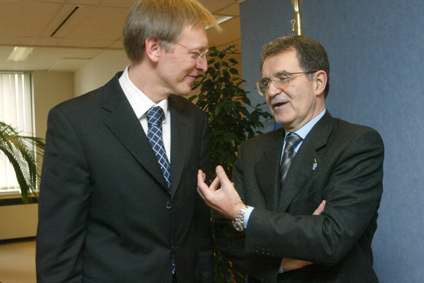 Visit of Janez Potocnik, Slovenian Minister without portfolio in charge of European Affairs, to the EC