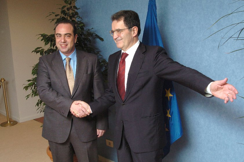 Visit of Markos Kyprianou, Cypriot Minister for Finance, to the EC