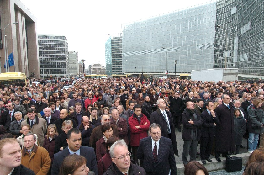 Commemoration in memory of the victims of the Madrid bombings