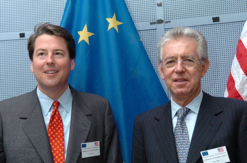 Visit of R. Hewitt Pate, US Assistant Attorney General for Antitrust, to the EC