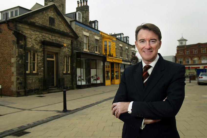 Peter Mandelson, Member of the EC