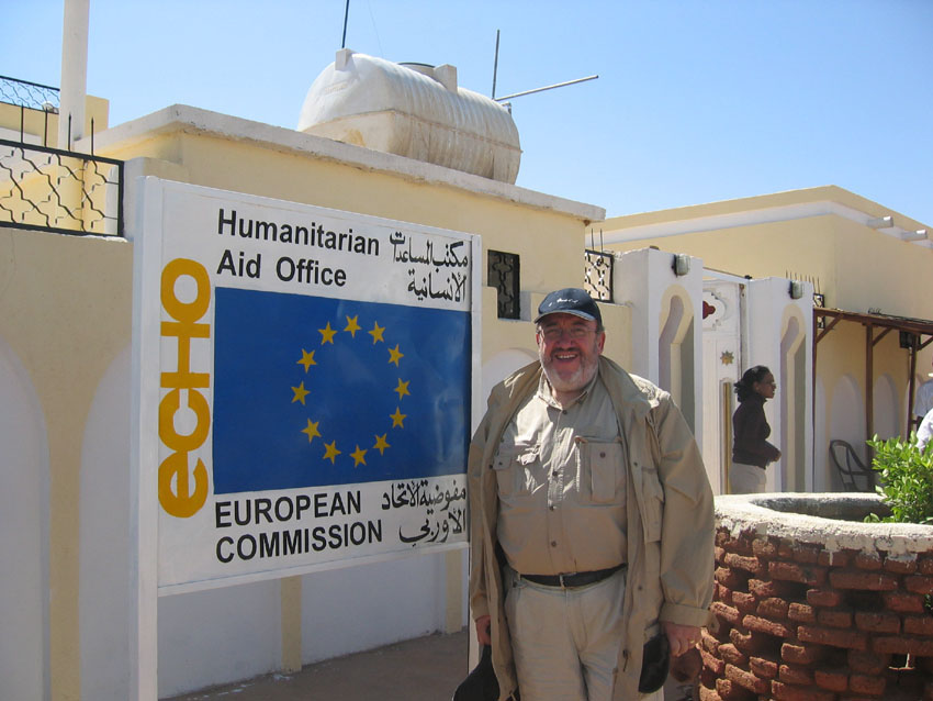 Visit of Louis Michel, Member of the EC, to  Darfur