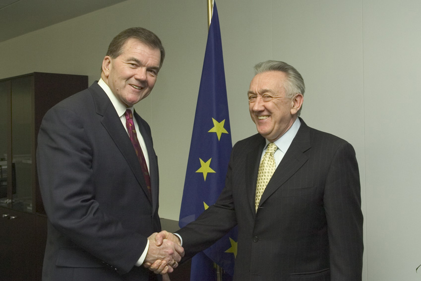 Visit of Tom Ridge, US Secretary of Homeland Security, to the EC