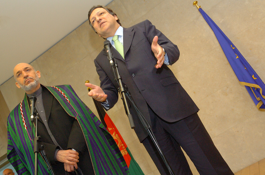 Visit of Hamid Karzaï, President of Afghanistan, to the EC
