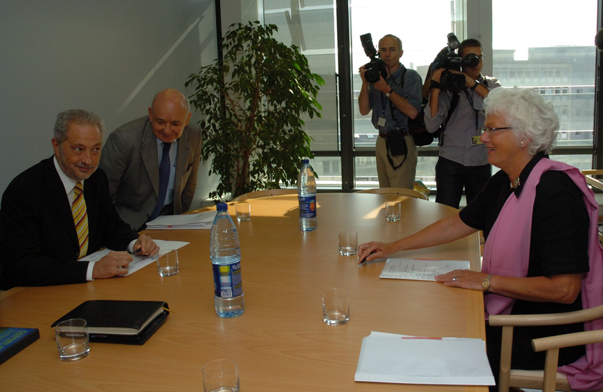 Visit of Adán Martín Menis, President of the Regional Government of Canary Islands, to the EC