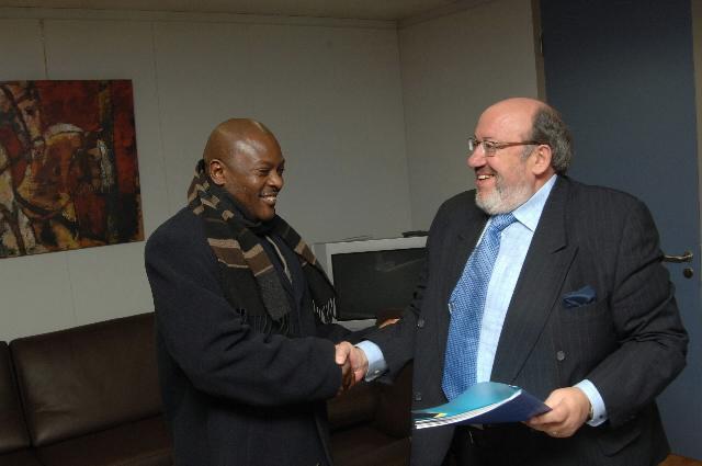 Visit by Pierre Nkurunziza, President of Burundi, to the EC