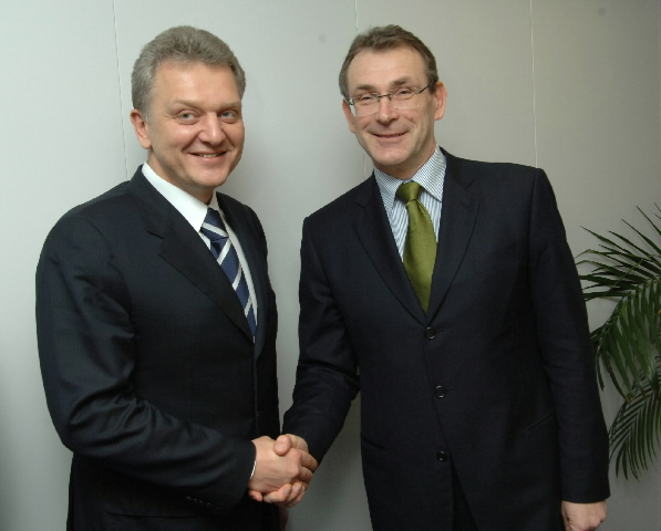 Visit by Viktor Khristenko, Russian Minister for Industry and Energy, to the EC