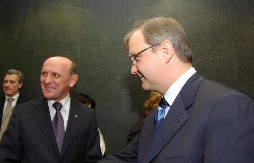 Visit by Sulejman Tihić, President of the three-men Presidency of Bosnia and Herzegovina, to the EC