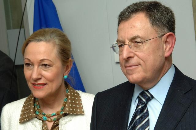 Visite de Fouad Siniora, Premier ministre libanais, à la CE