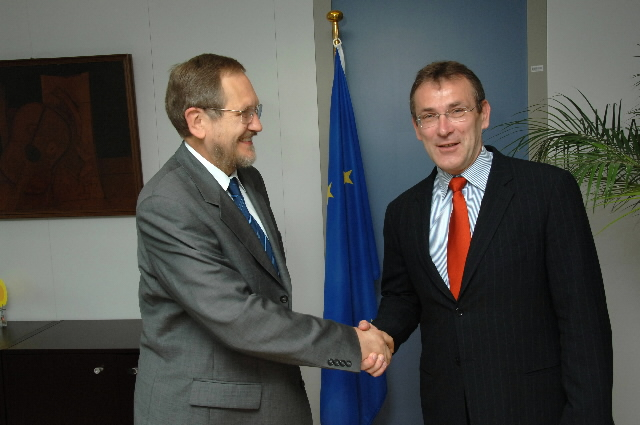 Visit of Radomir Naumov, Serbian Minister for Energy and Mining, to the EC