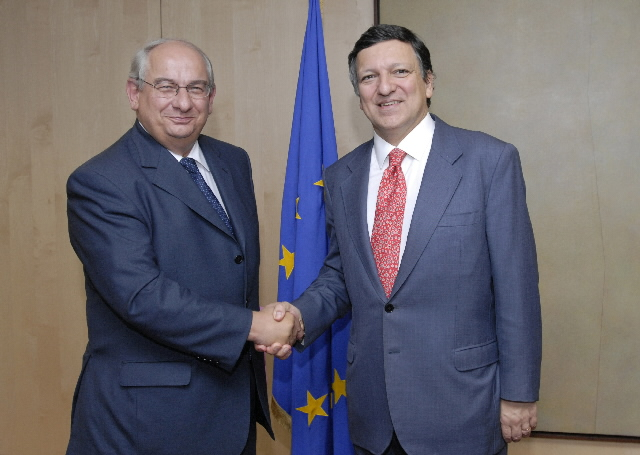 Visit by Michel Delebarre, President of the Committee of the Regions of the EU, to the EC