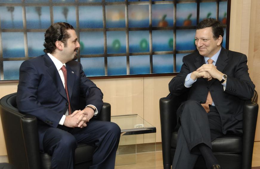 Visit by Saad Hariri, Leader of Lebanese Parliamentary Majority, to the EC