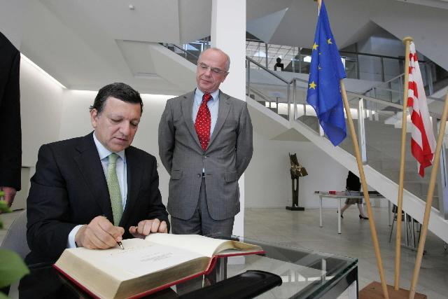Visit by José Manuel Barroso, President of the EC, to Bremen