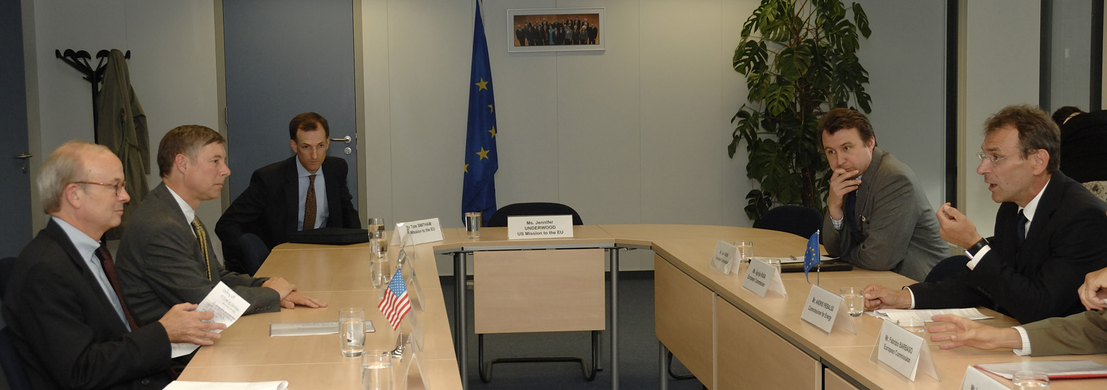 Visit by Rick Boucher, Chairman of the US Subcommittee on Energy and Air Quality, to the EC