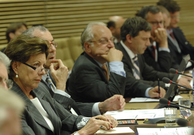 Participation of Neelie Kroes, Member of the EC, in the conference 50 years of EC Competition Law