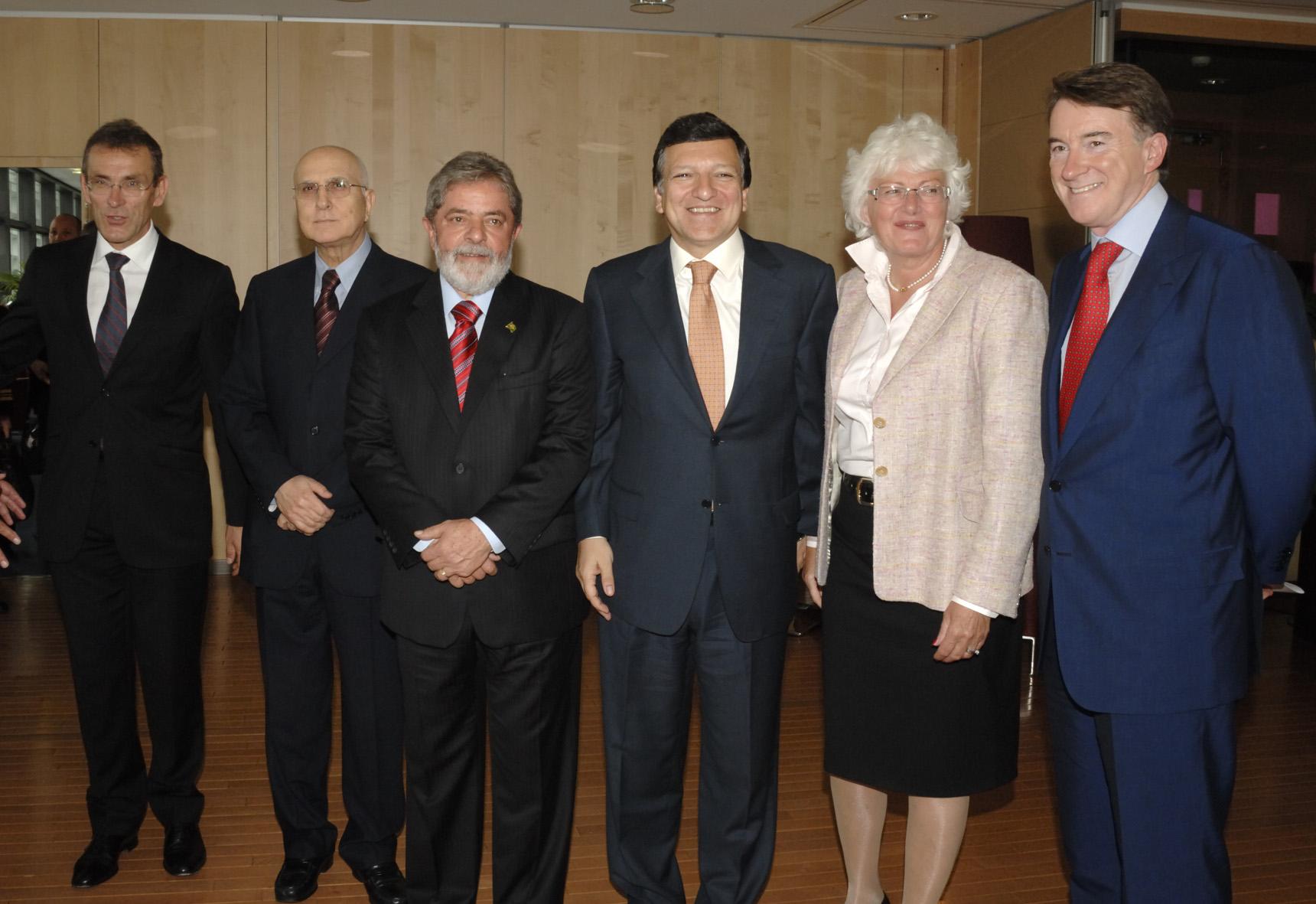 Visit by Luiz Inácio Lula da Silva, President of Brazil, to the EC