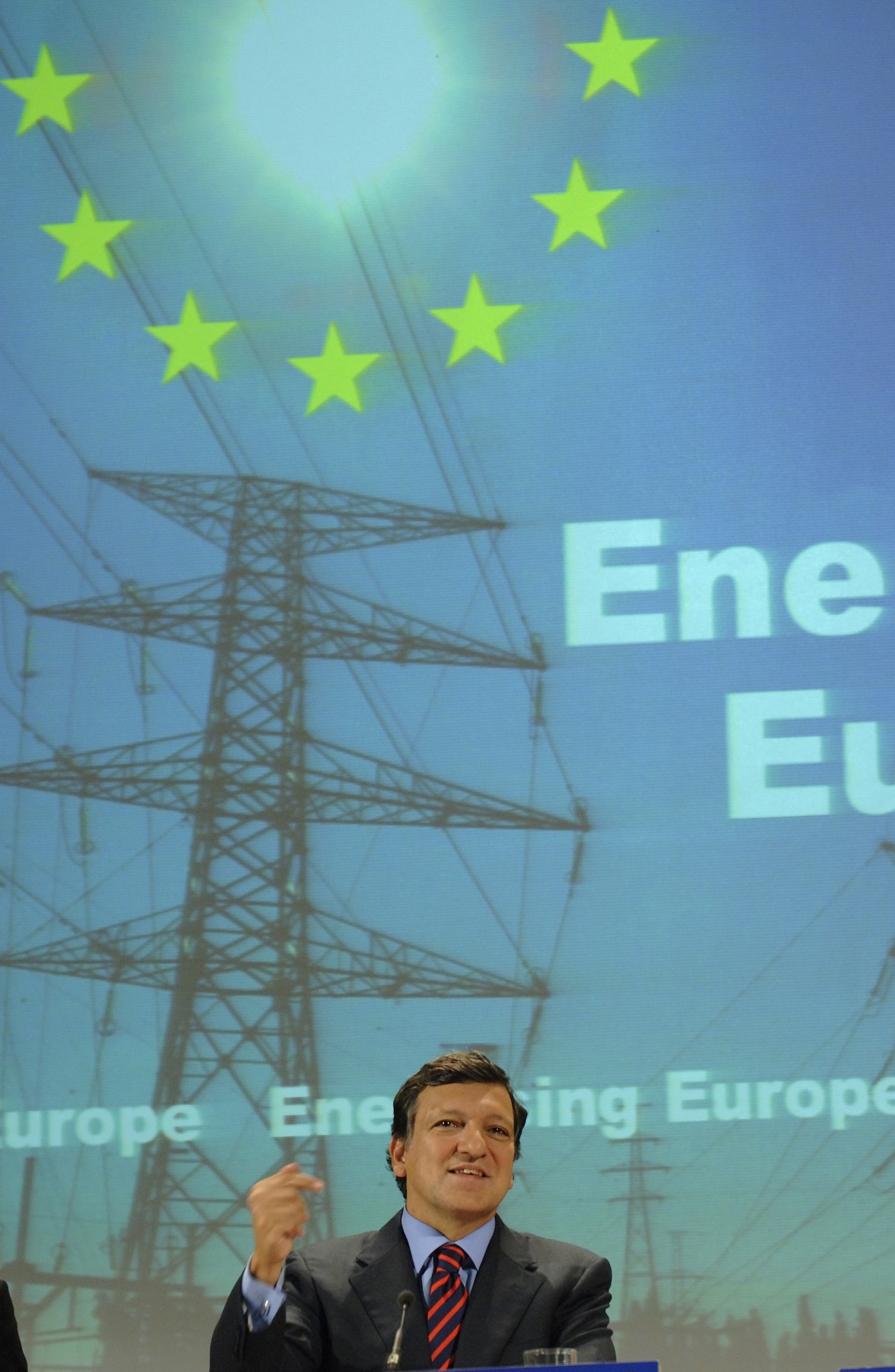 Press conference by José Manuel Barroso on the internal market energy package