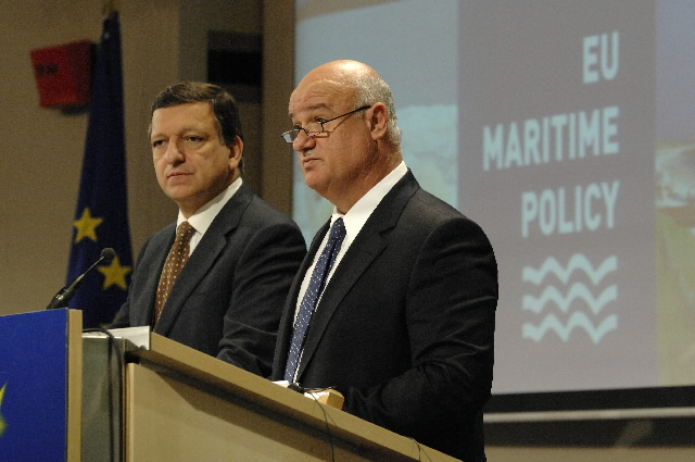 Joint press conference by José Manuel Barroso, and Joe Borg, on the adoption of the package on a maritime policy for the European Union