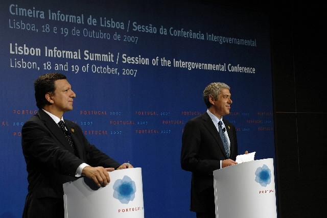 Lisbon Informal European Council, 18-19/10/07