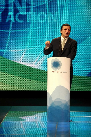 Participation of José Manuel Barroso, President of the EC, in an ICAP meeting