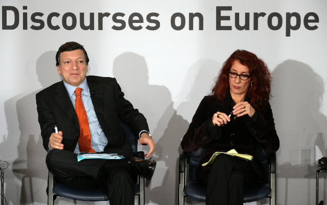 Participation of José Manuel Barroso in the dialogue of the 3rd