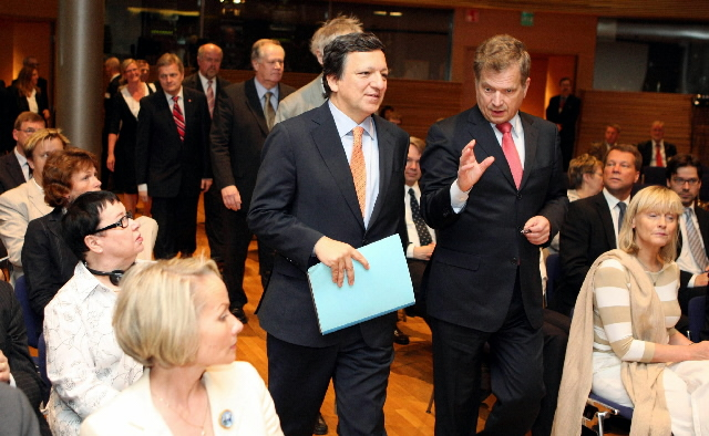 Visit of José Manuel Barroso, President of the EC, to Finland