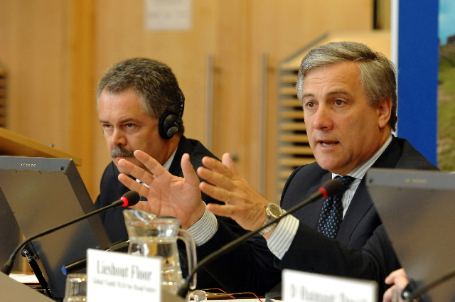 Participation of Antonio Tajani, Vice-President of the EC, in the European Youth Conference for Road Safety, at the EC