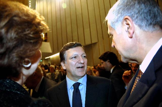 Visit of José Manuel Barroso, President of the EC, to Milan