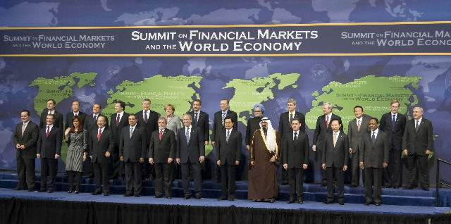 Participation of José Manuel Barroso, President of the EC, at the International G20 Summit on the Financial Crisis