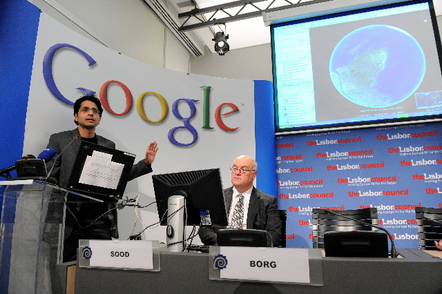 Press conference by Joe Borg, Member of the EC, on the launch of the new version of Google Earth that integrates the maritime cartography