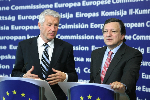 Visit of Thorbjørn Jagland, Secretary General of the Council of Europe, to the EC
