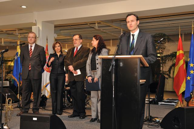Speech by Olli Rehn, Member of the EC, at the opening of the Hani-bal-kan Ante Portas exhibition