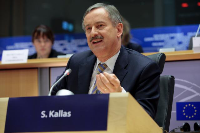 Hearing of Siim Kallas, Vice-President designate of the EC, at the EP