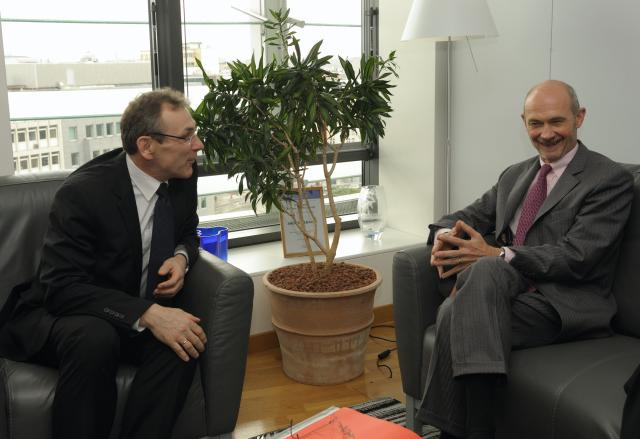 Visit of Pascal Lamy, Director-General of the WTO, to the EC