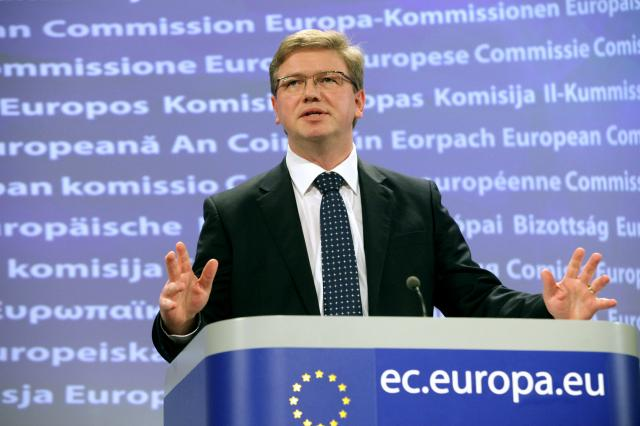 Press conference by Štefan Füle, Member of the EC, regarding EC opinion on Iceland's accession bid