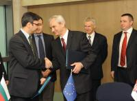 Signature of the Agreement on the acceleration of gas interconnector between Bulgaria and Serbia