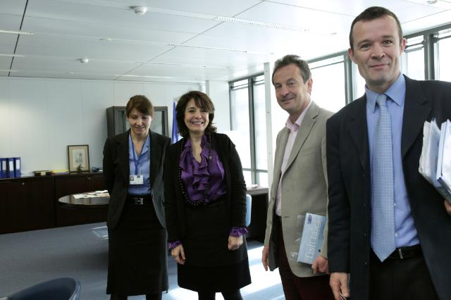 Visit of Rupert Howes, Chief Executive of the MSC, and Chris Davies, Member of the EP, to the EC