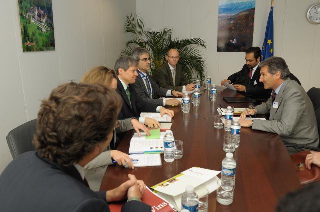 Visit of a delegation of the Comité européen des entreprises vins to the EC