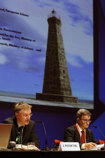 Participation of Maria Damanaki and Janez Potočnik, Members of the EC, at the European Maritime Day